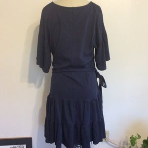 Bobeau Dress with Belt